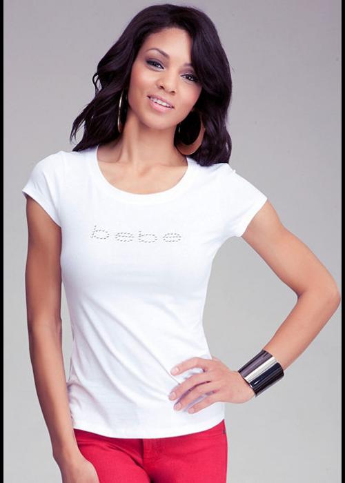 Tričko BEBE biele 189061