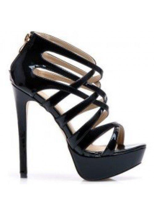 Sandále Laura čierne