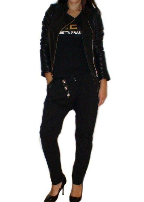 Elegantné tepláky Dara čierne