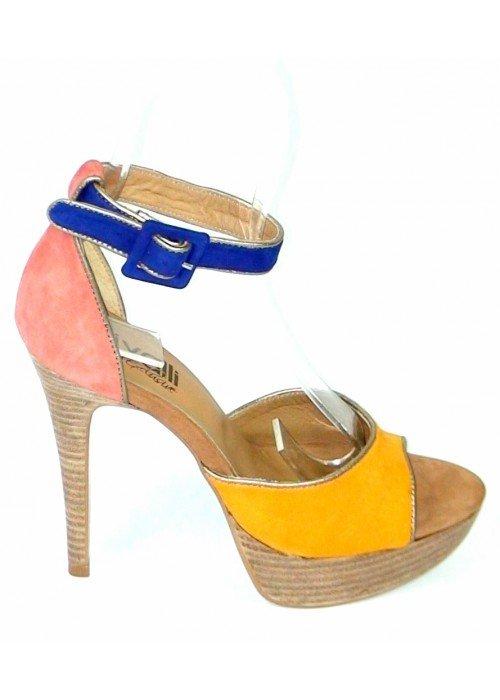 Kožené sandále Damasco