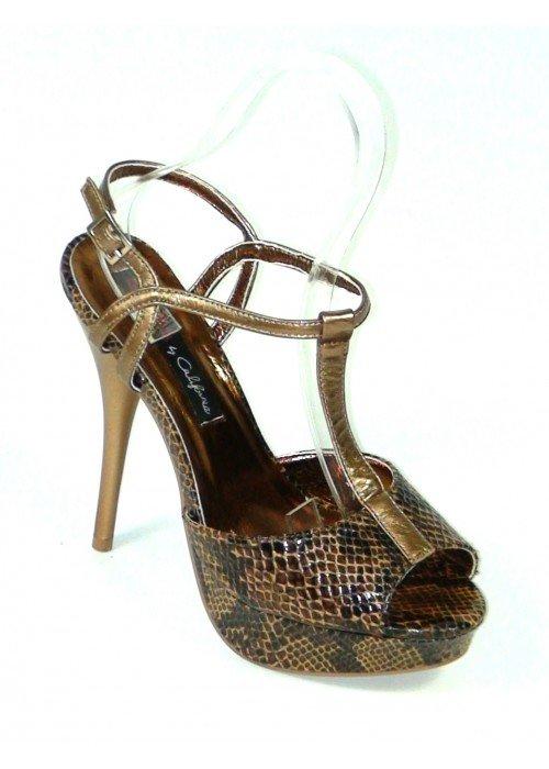 Bronzové sandále Emke
