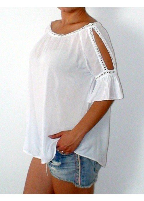 Letná blúzka Layla biela