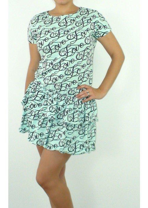 šaty Love mentolové