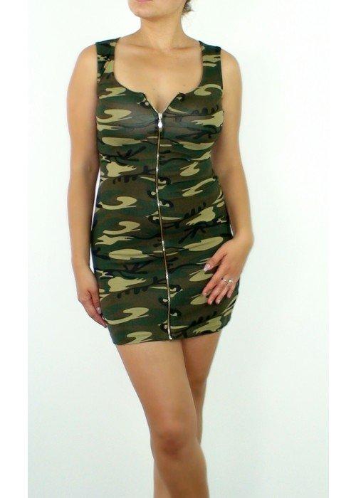 Sexy army šaty