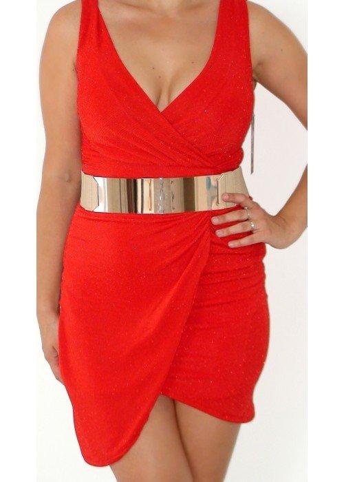 Šaty Tulip červené