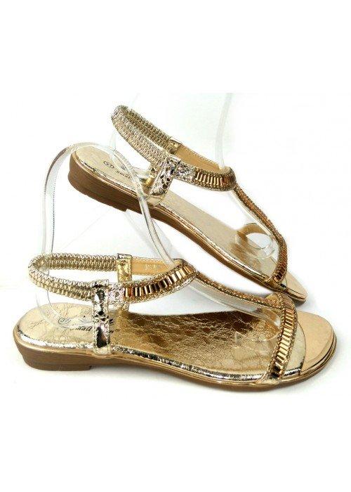 Zlaté sandále Dia