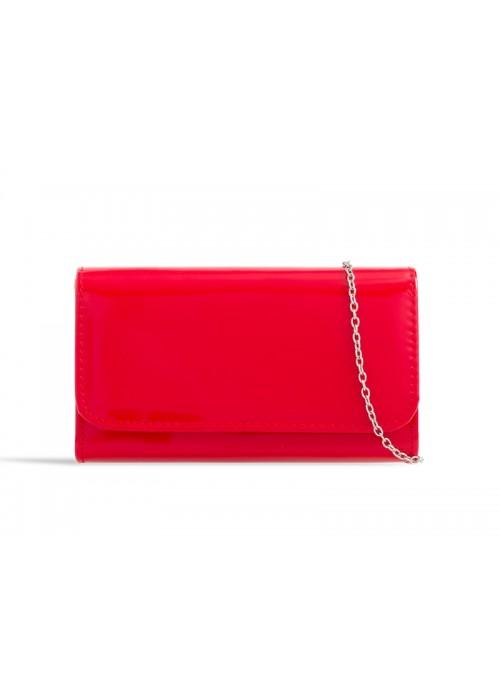Listová kabelka Kara červená