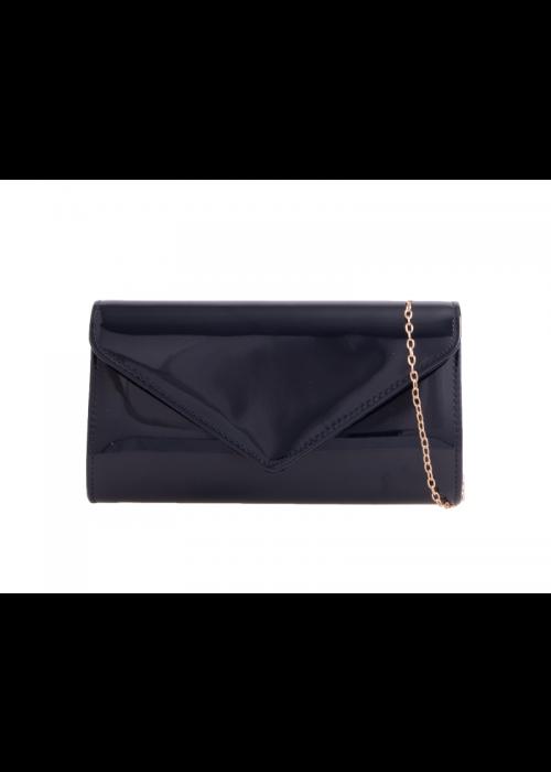 Listová kabelka Patty čierna