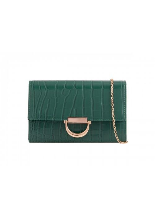 Listová kabelka Lenny zelená