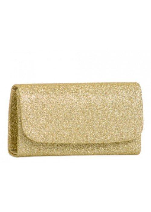 Glitrová kabelka Kara zlatá