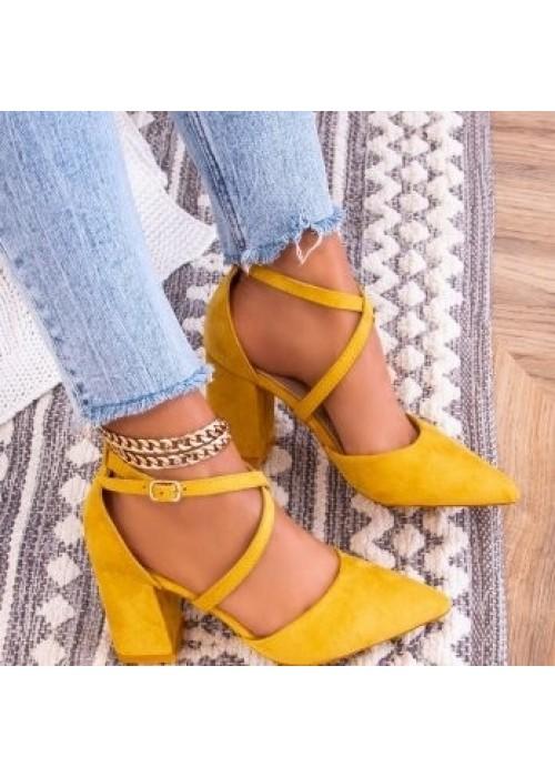 Horčicové sandále Olla 2
