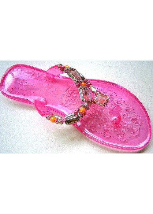 Gelové šľapky Jelly ružové