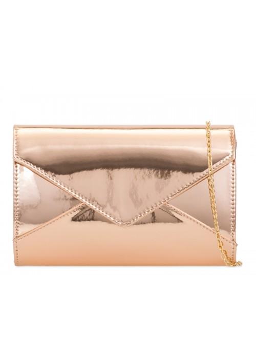 Rose gold zrkadlová kabelka Mary