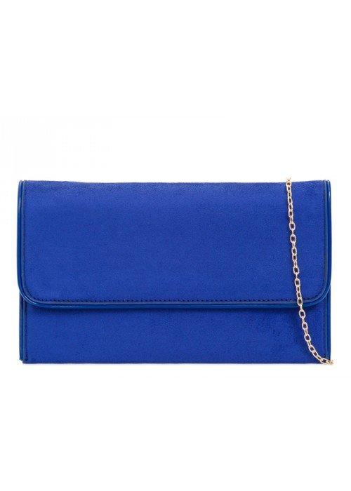 Listová kabelka Sandra kráľovská modrá