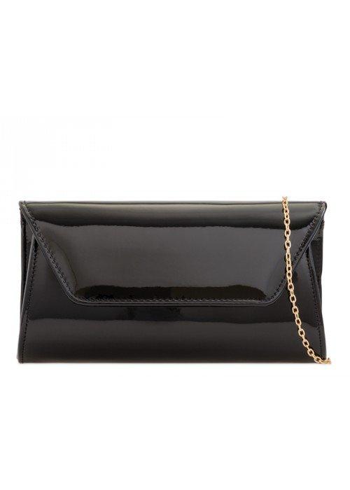 Listová kabelka Kendra čierna
