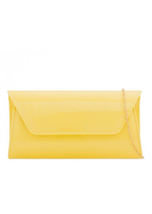 Listová kabelka Kendra žltá