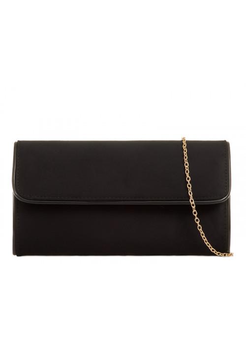 Listová kabelka Sandra čierna