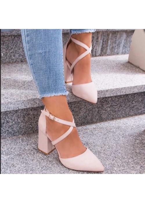 Béźové sandále Olla 2