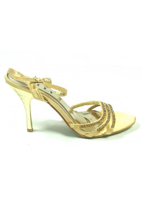 Spoločenské sandále Mery zlaté