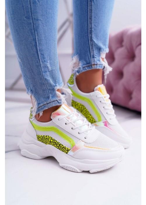 Štýlové botasky Deren neónové