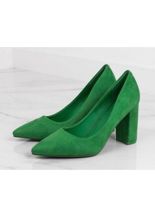Zelené lodičky Vera
