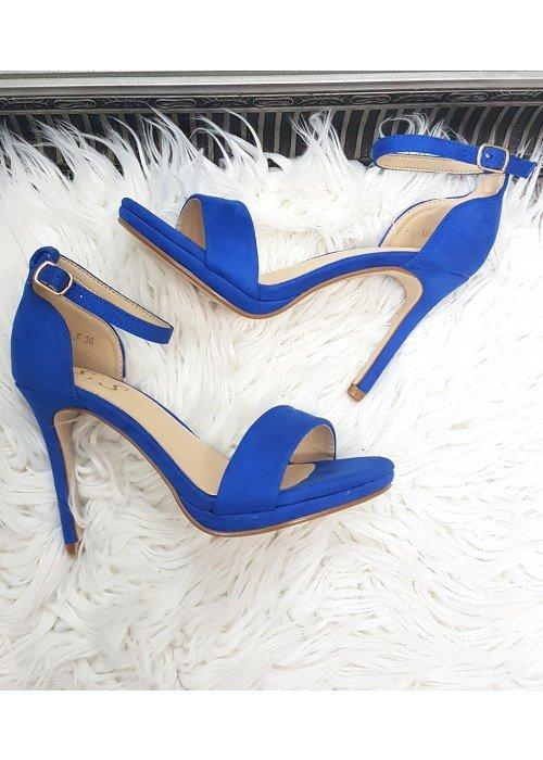 Kráľovské modré sandále Janice