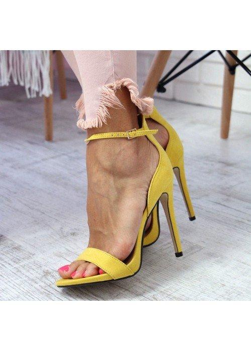 Žlté sandále Meryl