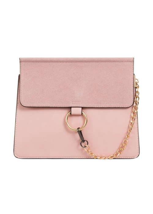 Luxusná kabelka v štýle Chloe ružová