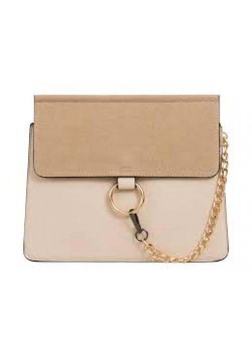 Luxusná kabelka v štýle Chloe béžová