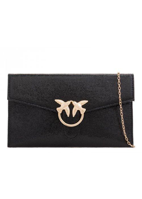 Listová kabelka Birdie čierna