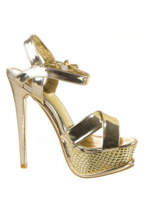Sandále Rennie zlaté