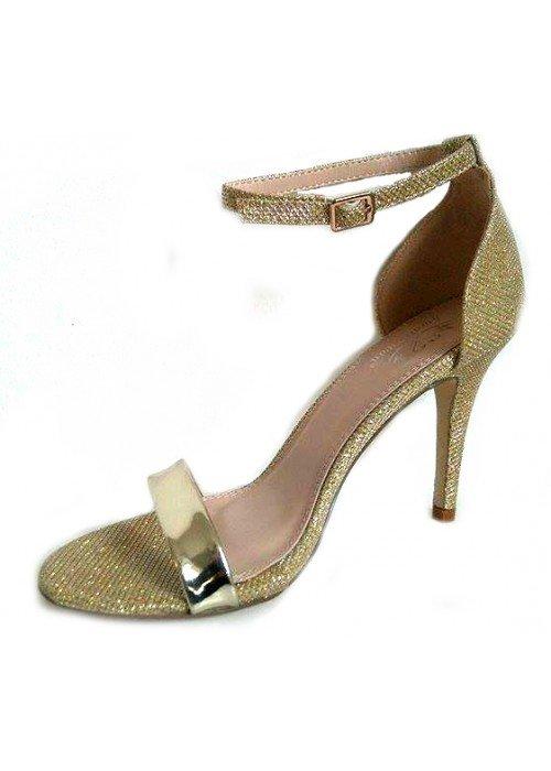 Zlaté sandále Sami