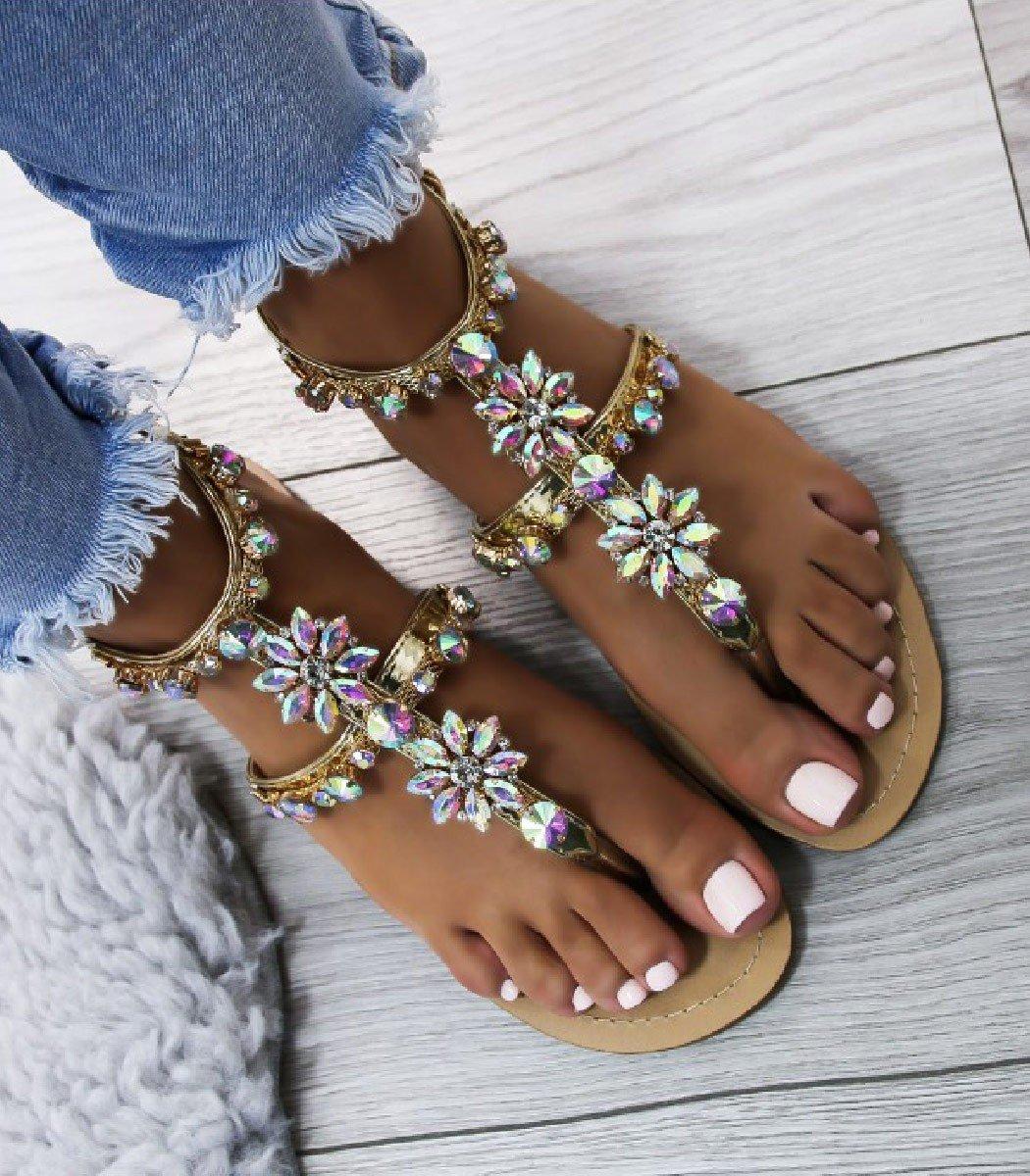 b9b98b3200b0 Zlaté sandále Tia · Kliknite pre zväčšenie obrázku