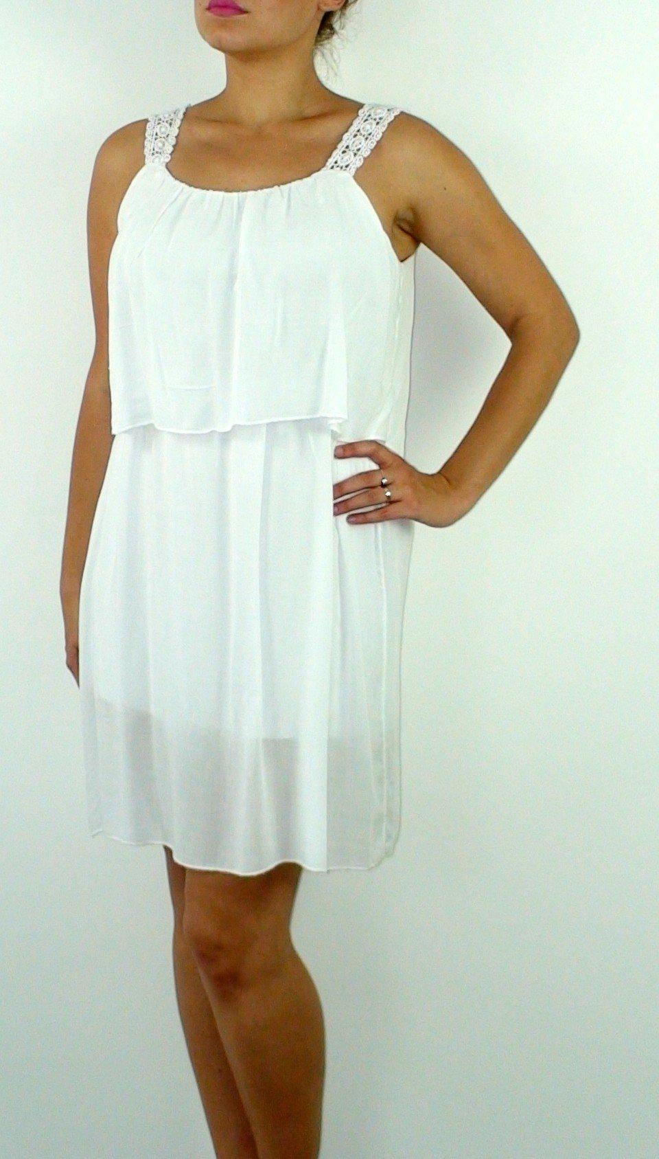 9f0098f09c64 Letné šaty Athene biele · Kliknite pre zväčšenie obrázku