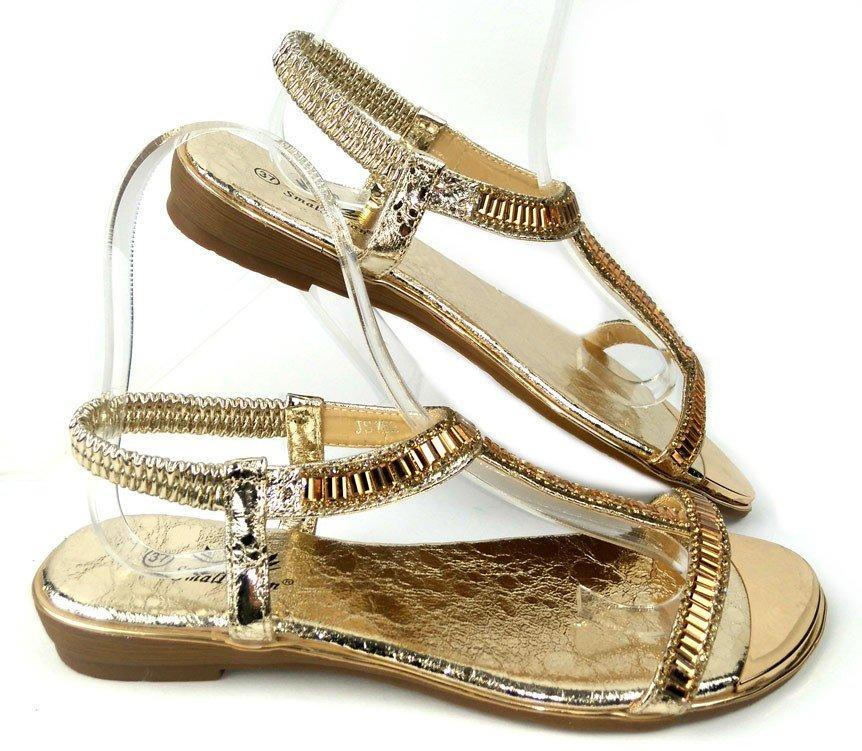 2c758a6cbf01 Zlaté sandále Dia · Kliknite pre zväčšenie obrázku