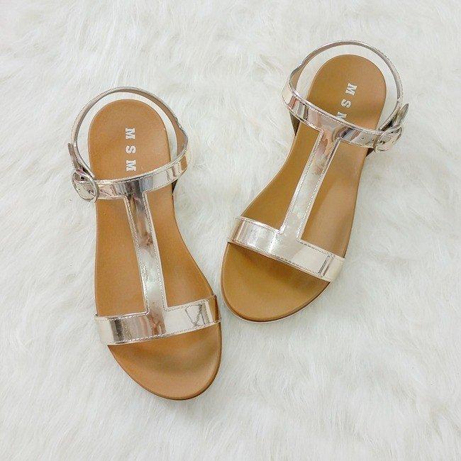 e9fa7f6681ae Zlaté zrkadlové sandále Melissa · Kliknite pre zväčšenie obrázku