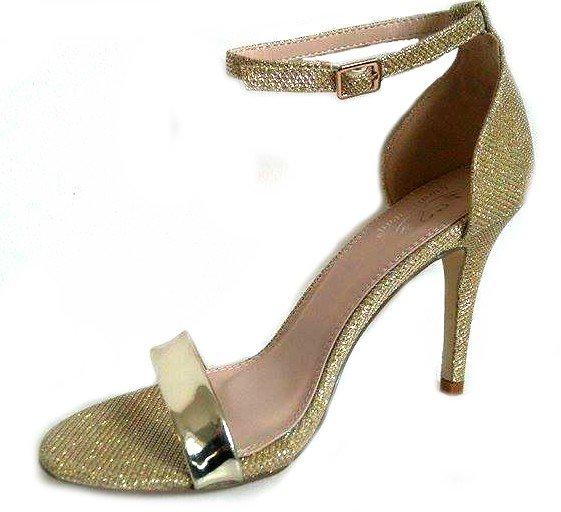 c1cad3c2cb39 Zlaté sandále Sami · Kliknite pre zväčšenie obrázku
