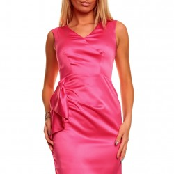 Krátke šaty Milla ružové