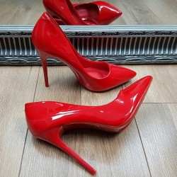Červené lodičky Lea