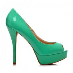 Lodičky Sylvia zelené