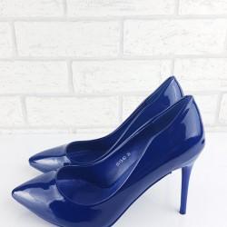 Tmavo modré lodičky Emma