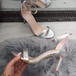 Strieborné sandále Nataly