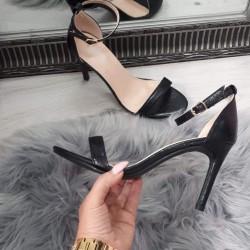 Čierne sandále Nataly