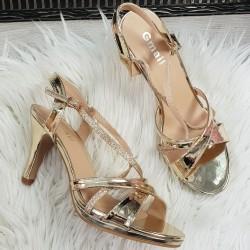 Spoločenské sandále Lissy zlaté