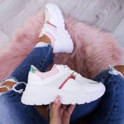 Štýlové botasky Dylan ružové