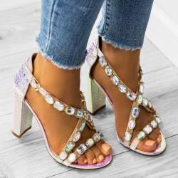 Luxusné sandálky Calista perleťové