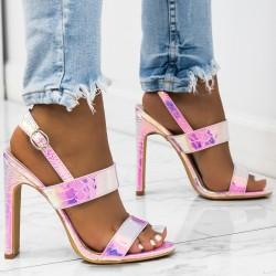 Perleťové sandále Malibu