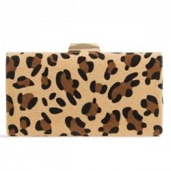 Leopardia kabelka v pevnom obale