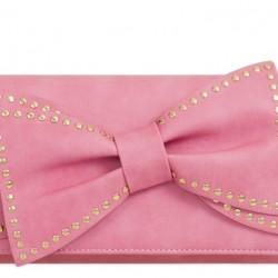 Listová kabelka Bowie ružová