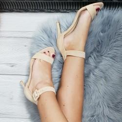 Béžové sandále Timea